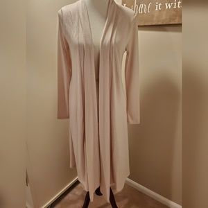 Rags & Couture Long Ivory Duster